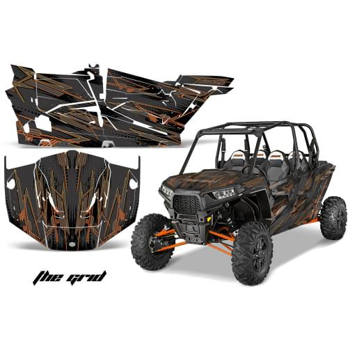 """Комплект графики AMR Racing The Grid (RZR1000XP """"4door"""")"""
