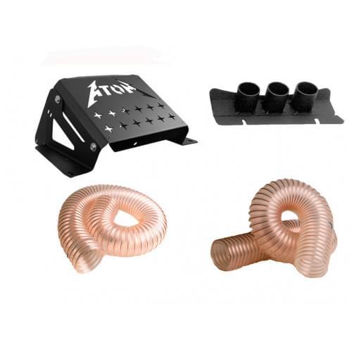 Комплект вынос радиатора + шноркель для квадроциклов CFMOTO X8